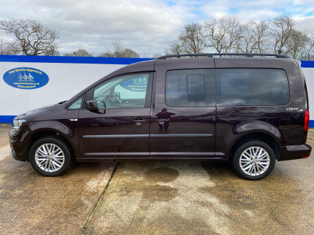 Volkswagen Caddy Maxi 2017 C20 LIFE TDI wheelchair & scooter accessible vehicle WAV 26