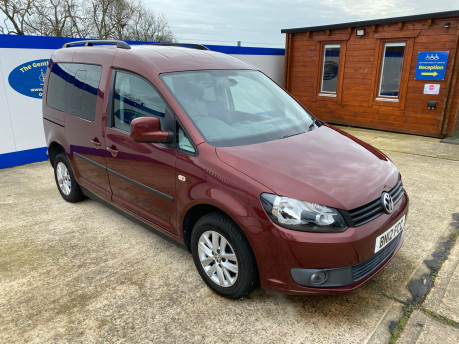 Volkswagen Caddy Life 2012 C20 LIFE TDI drive from wheelchair accessible vehicle WAV 1