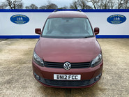 Volkswagen Caddy Life 2012 C20 LIFE TDI drive from wheelchair accessible vehicle WAV 2
