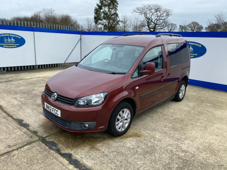 Volkswagen Caddy Life 2012 C20 LIFE TDI drive from wheelchair accessible vehicle WAV 3