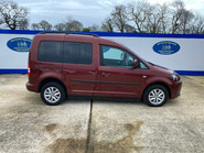 Volkswagen Caddy Life 2012 C20 LIFE TDI drive from wheelchair accessible vehicle WAV 23