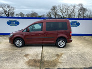 Volkswagen Caddy Life 2012 C20 LIFE TDI drive from wheelchair accessible vehicle WAV 24