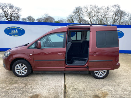 Volkswagen Caddy Life 2012 C20 LIFE TDI drive from wheelchair accessible vehicle WAV 25