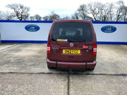 Volkswagen Caddy Life 2012 C20 LIFE TDI drive from wheelchair accessible vehicle WAV 4