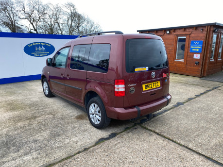 Volkswagen Caddy Life 2012 C20 LIFE TDI drive from wheelchair accessible vehicle WAV 22