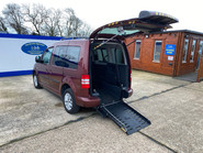 Volkswagen Caddy Life 2012 C20 LIFE TDI drive from wheelchair accessible vehicle WAV 27