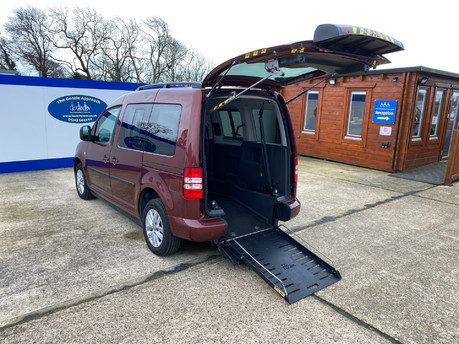 Volkswagen Caddy Life 2012 C20 LIFE TDI drive from wheelchair accessible vehicle WAV