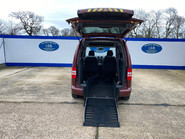 Volkswagen Caddy Life 2012 C20 LIFE TDI drive from wheelchair accessible vehicle WAV 9