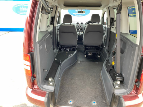 Volkswagen Caddy Life 2012 C20 LIFE TDI drive from wheelchair accessible vehicle WAV 11