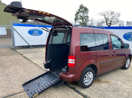 Volkswagen Caddy Life 2012 C20 LIFE TDI drive from wheelchair accessible vehicle WAV 21