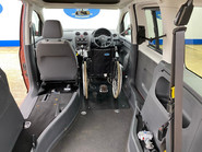 Volkswagen Caddy Life 2012 C20 LIFE TDI drive from wheelchair accessible vehicle WAV 5