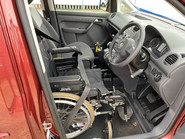 Volkswagen Caddy Life 2012 C20 LIFE TDI drive from wheelchair accessible vehicle WAV 6