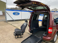 Volkswagen Caddy Life 2012 C20 LIFE TDI drive from wheelchair accessible vehicle WAV 18
