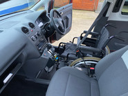 Volkswagen Caddy Life 2012 C20 LIFE TDI drive from wheelchair accessible vehicle WAV 19