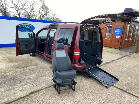 Volkswagen Caddy Life 2012 C20 LIFE TDI drive from wheelchair accessible vehicle WAV 20