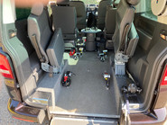 Volkswagen Caravelle EXECUTIVE TDI BLUEMOTION TECH wheelchair & scooter accessible vehicle WAV 10