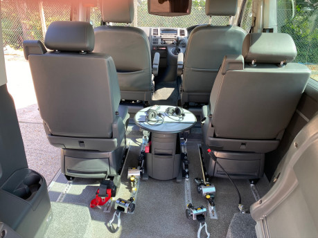 Volkswagen Caravelle EXECUTIVE TDI BLUEMOTION TECH wheelchair & scooter accessible vehicle WAV 13