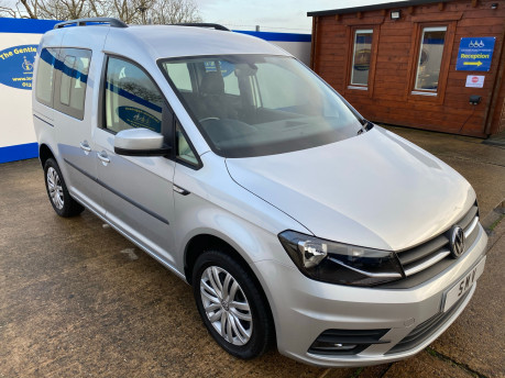 Volkswagen Caddy Life 2017 C20 LIFE TSI passenger upfront wheelchair accessible vehicle WAV 1