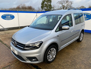 Volkswagen Caddy Life 2017 C20 LIFE TSI passenger upfront wheelchair accessible vehicle WAV 3