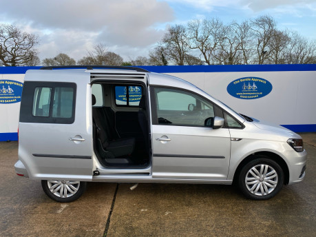 Volkswagen Caddy Life 2017 C20 LIFE TSI passenger upfront wheelchair accessible vehicle WAV 35