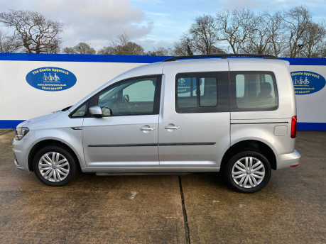 Volkswagen Caddy Life 2017 C20 LIFE TSI passenger upfront wheelchair accessible vehicle WAV 32