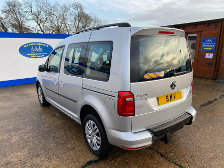 Volkswagen Caddy Life 2017 C20 LIFE TSI passenger upfront wheelchair accessible vehicle WAV 31