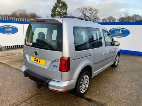 Volkswagen Caddy Life 2017 C20 LIFE TSI passenger upfront wheelchair accessible vehicle WAV 36