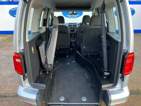 Volkswagen Caddy Life 2017 C20 LIFE TSI passenger upfront wheelchair accessible vehicle WAV 11