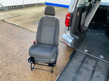 Volkswagen Caddy Life 2017 C20 LIFE TSI passenger upfront wheelchair accessible vehicle WAV 14
