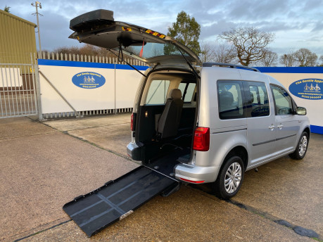 Volkswagen Caddy Life 2017 C20 LIFE TSI passenger upfront wheelchair accessible vehicle WAV 38