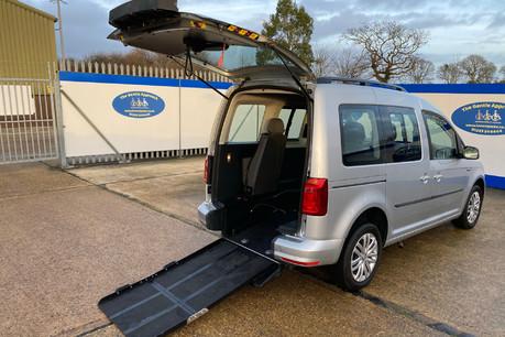 Volkswagen Caddy Life 2017 C20 LIFE TSI passenger upfront wheelchair accessible vehicle WAV
