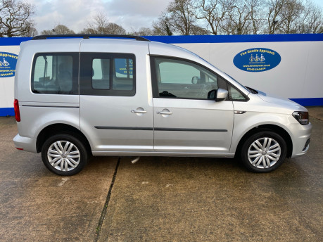 Volkswagen Caddy Life 2017 C20 LIFE TSI passenger upfront wheelchair accessible vehicle WAV 34