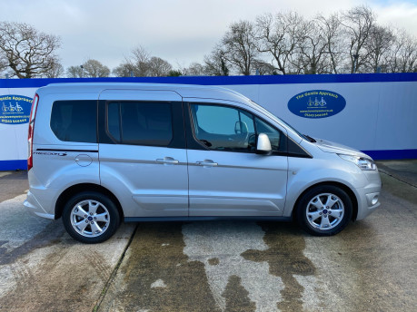 Ford Tourneo Connect 2016 TITANIUM TDCI wheelchair & scooter accessible vehicle WAV 29