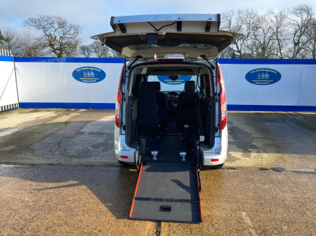 Ford Tourneo Connect 2016 TITANIUM TDCI wheelchair & scooter accessible vehicle WAV 9