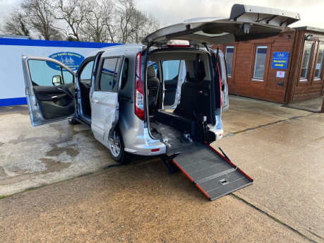 Ford Tourneo Connect 2016 TITANIUM TDCI wheelchair & scooter accessible vehicle WAV 25