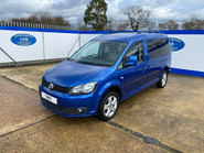 Volkswagen Caddy Maxi 2013 C20 LIFE TDI wheelchair & scooter accessible vehicle WAV 3