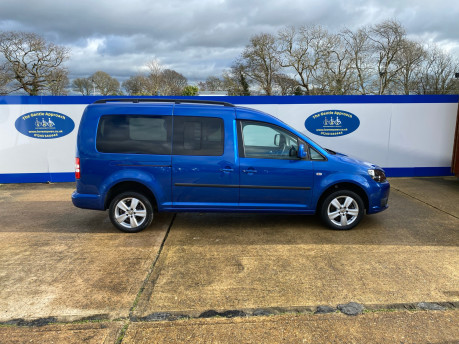 Volkswagen Caddy Maxi 2013 C20 LIFE TDI wheelchair & scooter accessible vehicle WAV 24