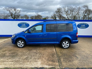 Volkswagen Caddy Maxi 2013 C20 LIFE TDI wheelchair & scooter accessible vehicle WAV 26
