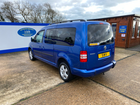 Volkswagen Caddy Maxi 2013 C20 LIFE TDI wheelchair & scooter accessible vehicle WAV 28