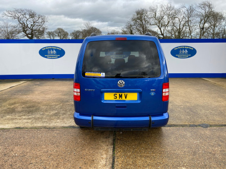 Volkswagen Caddy Maxi 2013 C20 LIFE TDI wheelchair & scooter accessible vehicle WAV 4