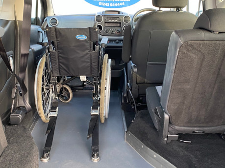Peugeot Partner 2013 E-HDI TEPEE S wheelchair user upfront & scooter accessible vehicle WAV 20