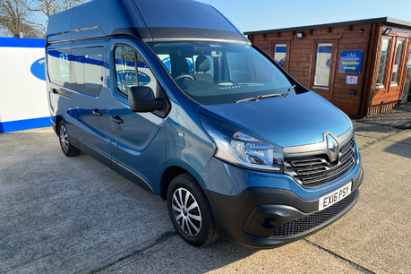 Renault Trafic 2016 LH29 BUSINESS ENERGY DCI H/R P/V wheelchair accessible vehicle WAV