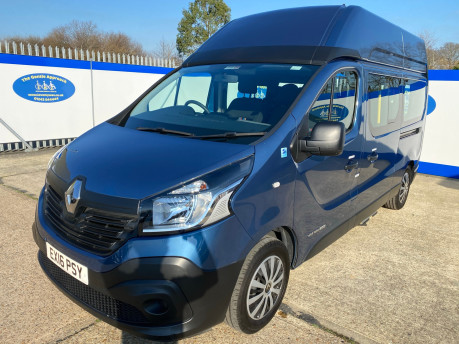 Renault Trafic 2016 LH29 BUSINESS ENERGY DCI H/R P/V wheelchair accessible vehicle WAV 3