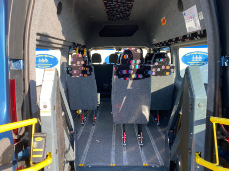 Renault Trafic 2016 LH29 BUSINESS ENERGY DCI H/R P/V wheelchair accessible vehicle WAV 8
