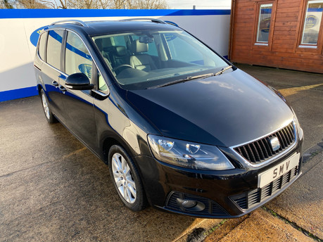 SEAT Alhambra 2015 TDI CR SE LUX DSG wheelchair & scooter accessible vehicle WAV