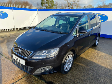 SEAT Alhambra 2015 TDI CR SE LUX DSG wheelchair & scooter accessible vehicle WAV 3