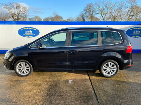 SEAT Alhambra 2015 TDI CR SE LUX DSG wheelchair & scooter accessible vehicle WAV 34