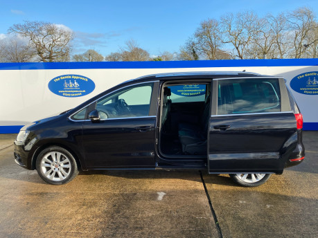 SEAT Alhambra 2015 TDI CR SE LUX DSG wheelchair & scooter accessible vehicle WAV 35