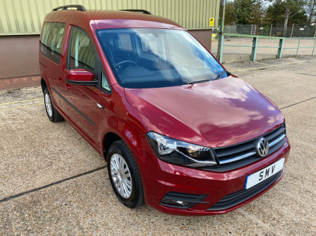 Volkswagen Caddy Life 2020 C20 LIFE TDI passenger upfront & scooter accessible vehicle WAV 1