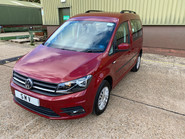 Volkswagen Caddy Life 2020 C20 LIFE TDI passenger upfront & scooter accessible vehicle WAV 3